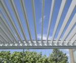 Brustor 200 pohled na hliníkové stropní lamely