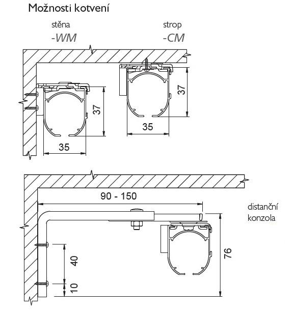 montáž rolet medium front