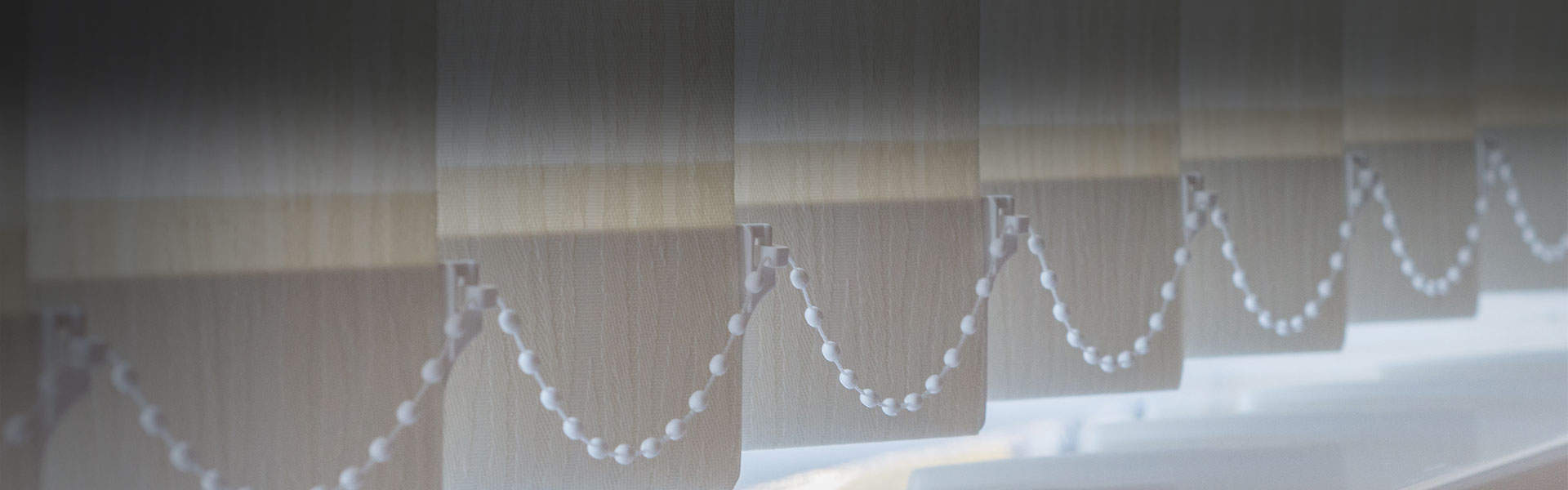 Vertikální žaluzie LUX - Kovo Stín