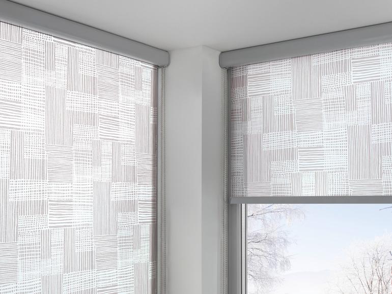 roleta v kazetě bez nutnosti vrtání - lze pověsit na okenní rám