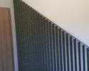 Roztažená Vertikální žaluzie pod schody