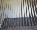 Vertikální žaluzie v šikmině - roztažené lamely