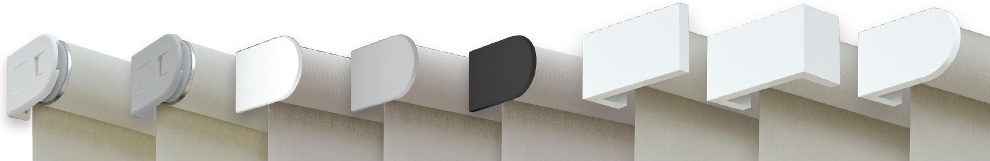 Látkové rolety MAXI - barevné design konzole