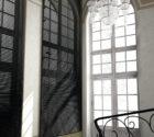 luxusní dřevěné žaluzie na vysoká okna