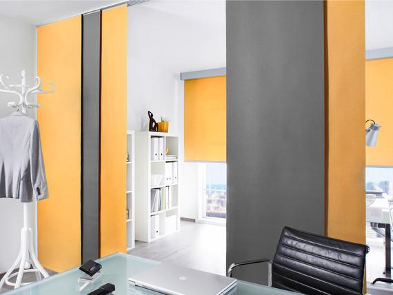 barevné japonské stěny designové