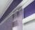 detail fialové japonské stěny