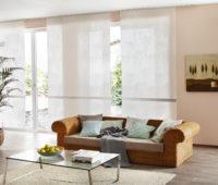 moderní obývací pokoj s japonskou stěnou Erfal
