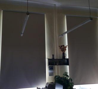 reference dvě rolety 3 metry dlouhé