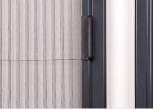 plisované sítě do dveří proti hmyzu