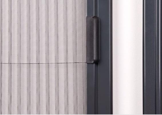 plisované sítě do oken proti hmyzu