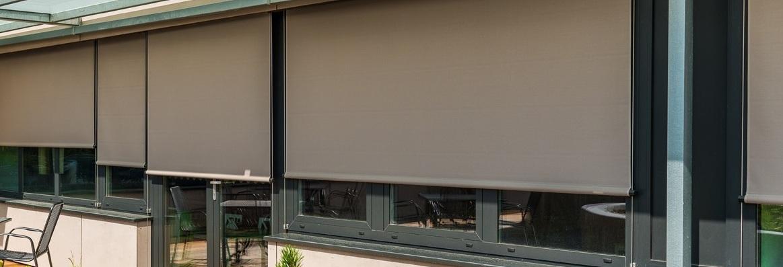 venkovní screenové rolety Minirol