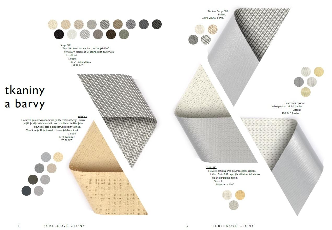 zastínění pergoly tkaniny a barvy