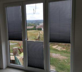 plisé francouzská okna Rokycany