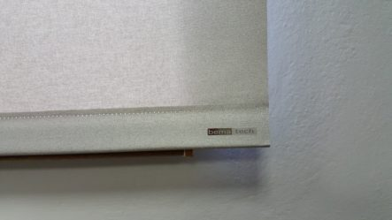 roleta Pure detail zátěžové lišty