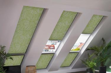 rolety do střešních oken a světlíků