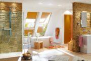oranzove rolety v koupelne