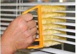 čistící kartáčky na žaluzie
