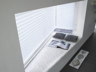 plise v atypickem okne