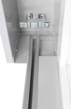 samonosná žaluzie STF detail ze spoda