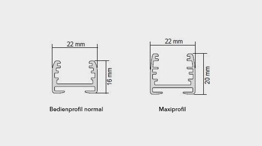 maxiprofil pro plise MHZ