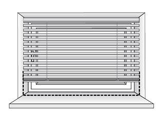 montáž žaluzií do výklenku okna