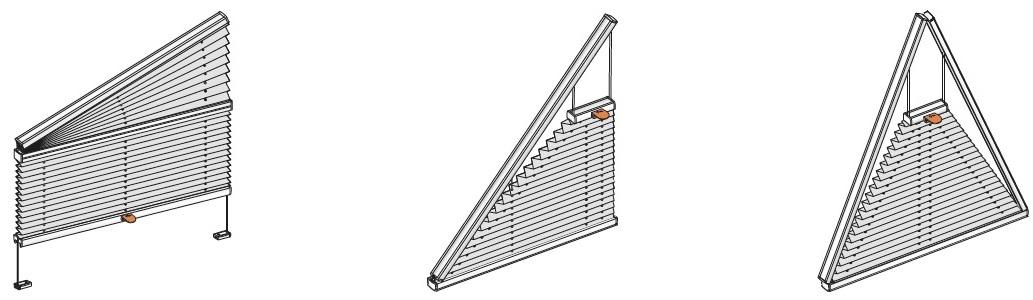 pro atypická okna trojúhelníková