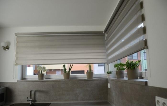 rolety zebra v kuchyni