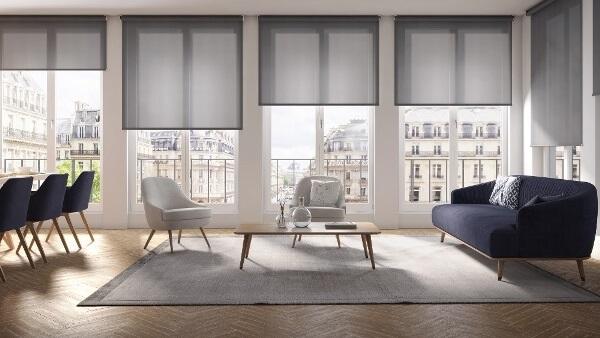 Látková roleta na okna do šířky 410 - 420 cm