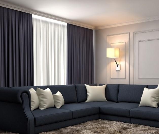 záclony a závěsy do obývacích pokojů