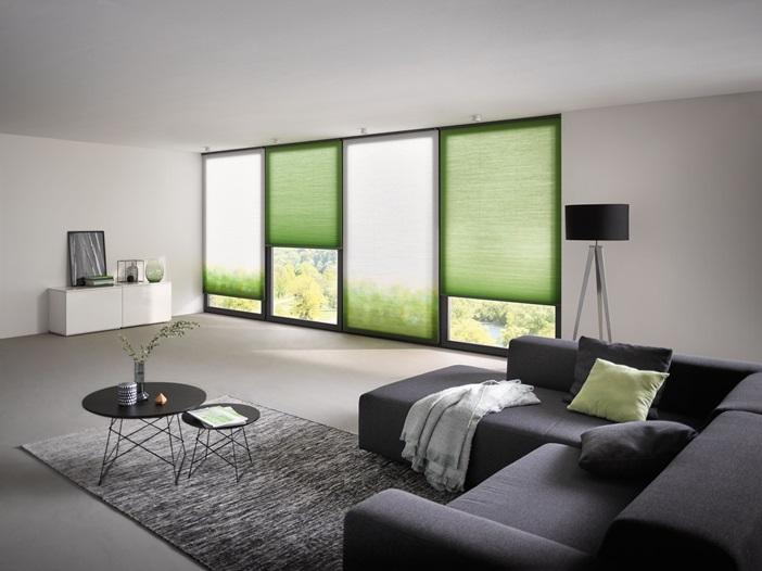 plisé žaluzie jsou velmi vhodné pro moderní stínění oken