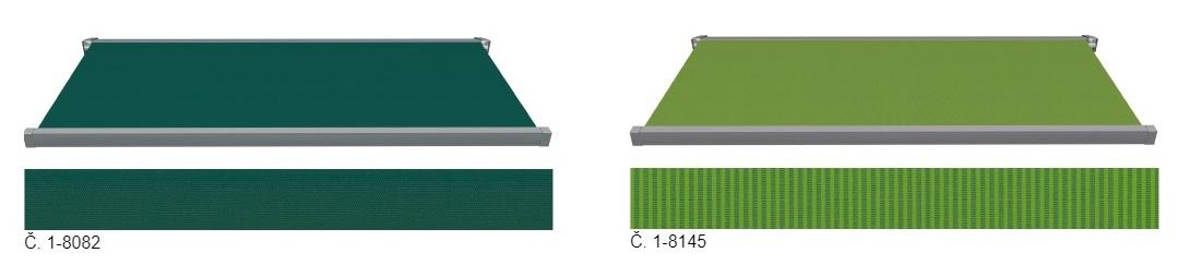 zelené a modré látky 1