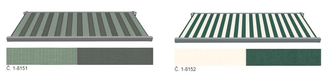 zelené a modré látky 3