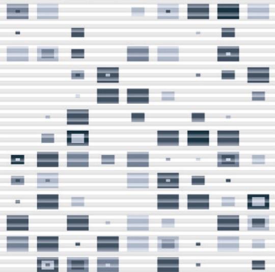 modrá varianta plisé Code