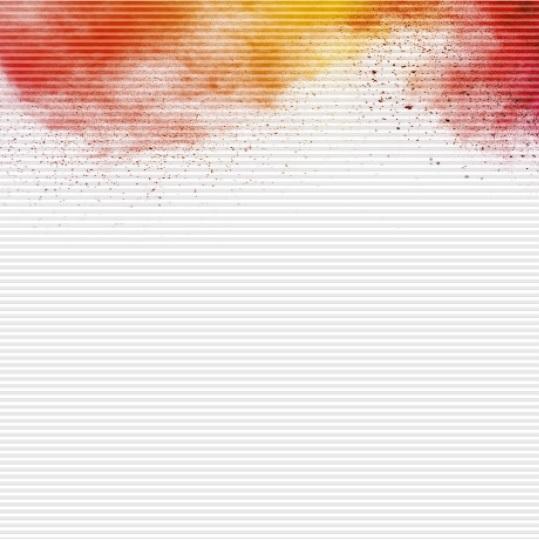 plisé Duette DELHI žlutá a červená nahoře