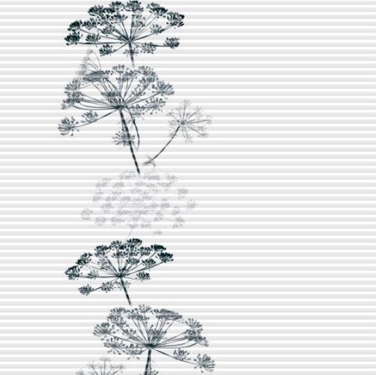 plisé GARDEN květy vlevo