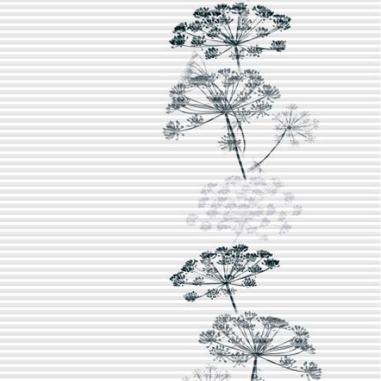 plisé GARDEN květy vpravo