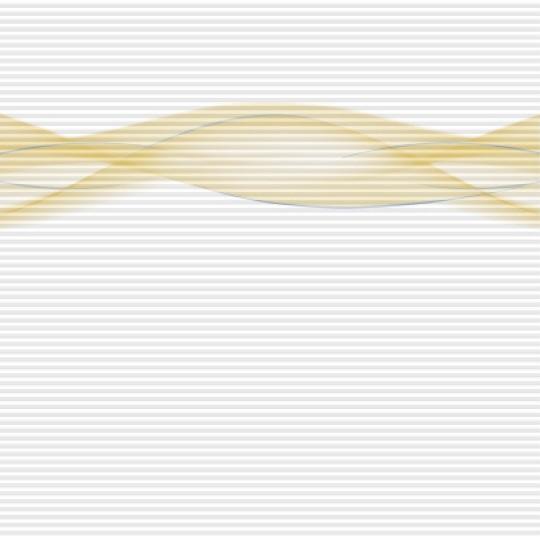 plisé WAVE žlutá vlna