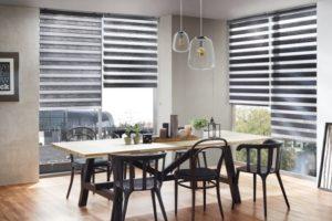 moderní rolety do oken den a noc
