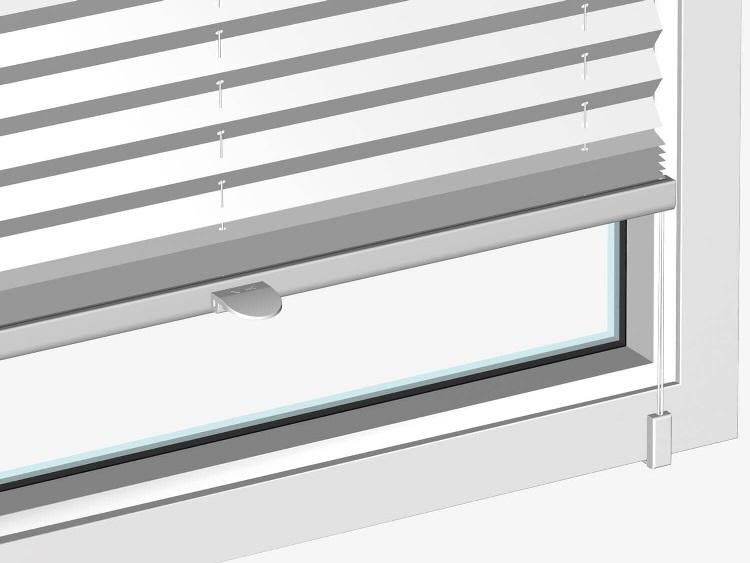okenní spona pro plisé bez vrtaní