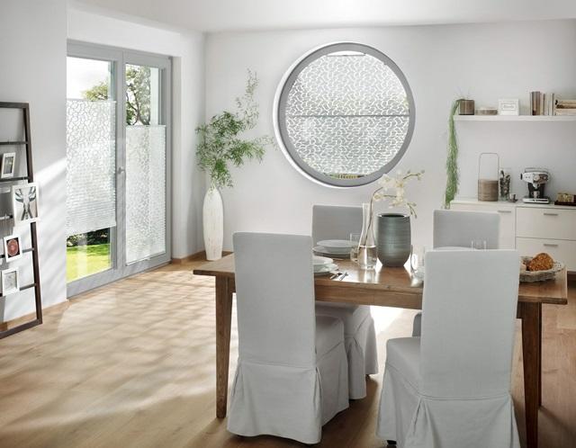 speciální tvary oken zastíněni plisé